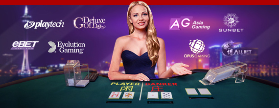 Live Dealer Casino Games Betting at Dafabet